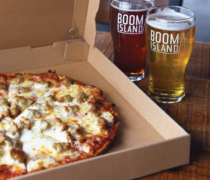 2 Pints and a Pizza $20